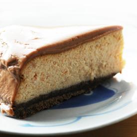 chocolate nut cheesecake