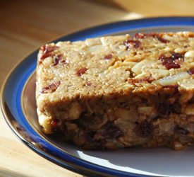 Cranberry and Cashew Nut Roast