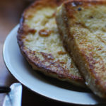 eggy bread on a plate