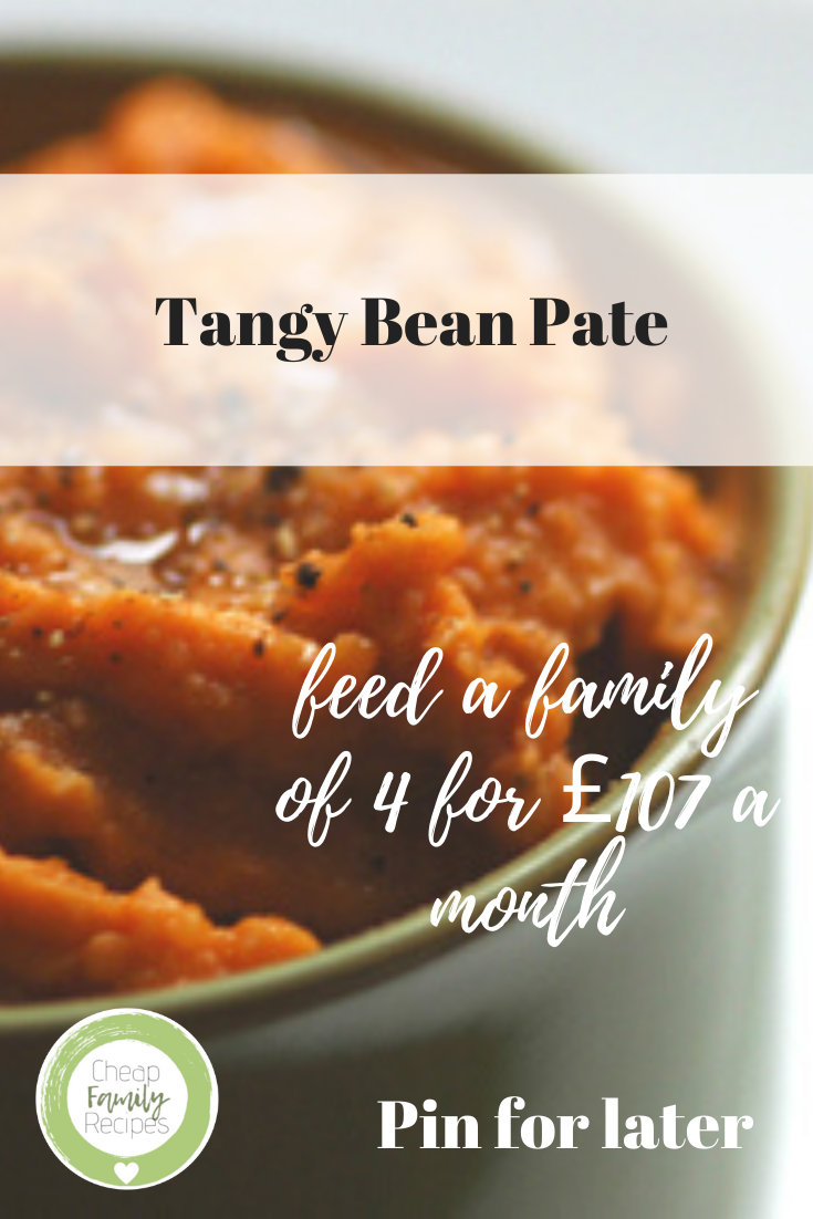 tangy bean pate