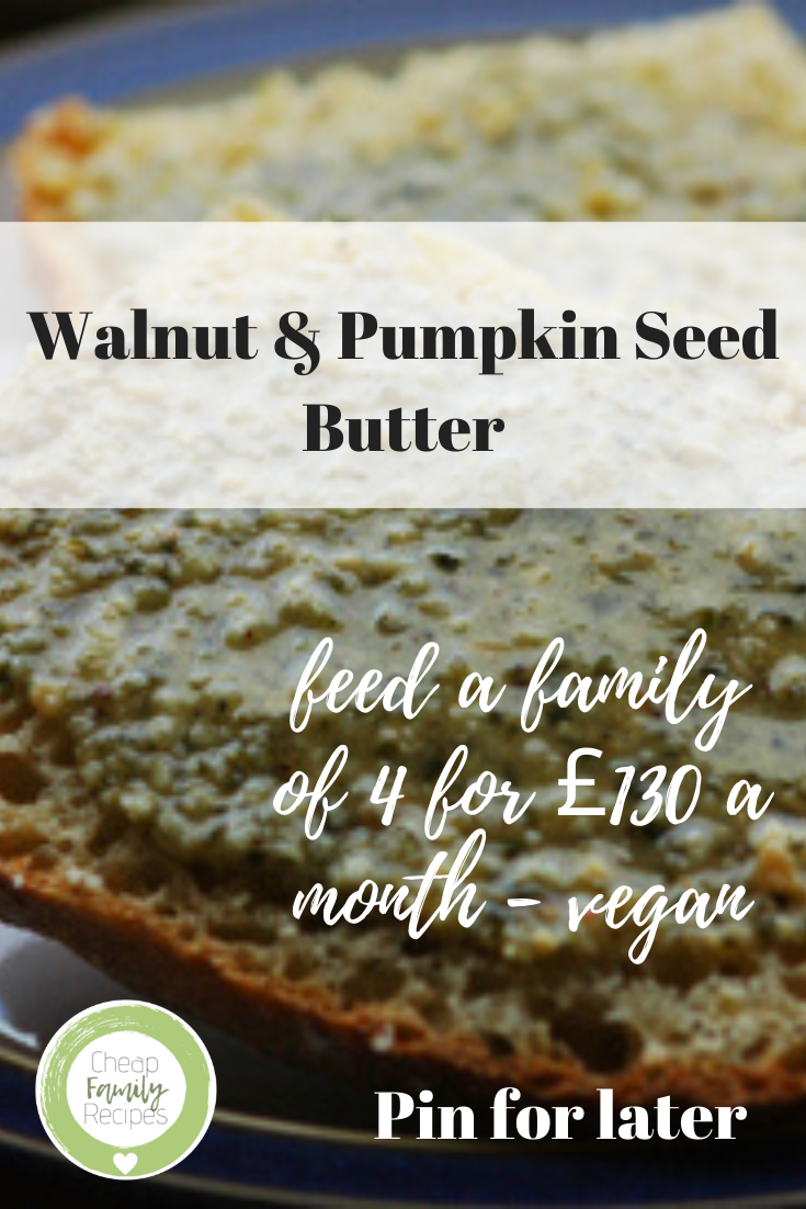 Walnut & Pumpkin Seed Butter