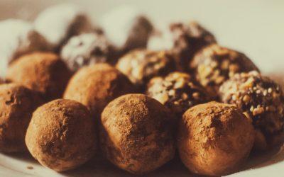 No Cook Chocolate Truffles